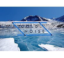 Cold Noise - Lake Fryxell Antartica Photographic Print