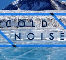 Cold Noise - Lake Fryxell Antartica Sticker