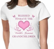 World's Greatest GrandChildren Womens Fitted T-Shirt