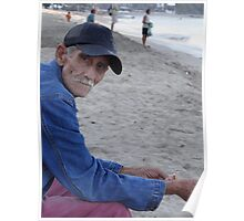 Old man at the sea Poster
