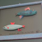 "Windows are fish to the sole 7 of 13. 32"" x 24""  $300.00 for original by Fred Weiler"