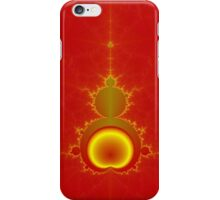 Mandelbrot in Red and Yellow iPhone Case/Skin
