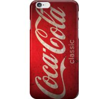 Coca Cola Vintage (Classic) iPhone Case/Skin