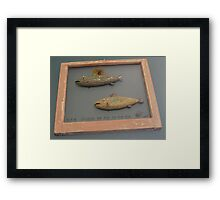 "Windows are fish to the sole 8 of 13. 28"" x 24"" (SOLD) Framed Print"