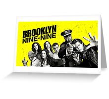 Brooklyn 99 Nine  Greeting Card