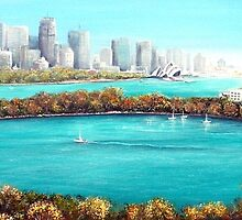 Sydney Harbour, Australia by Linda Callaghan