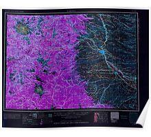 USGS Topo Map Washington State WA Yakima 244825 1958 250000 Inverted Poster