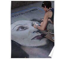 Festival of pavement graffity II - Festival de la pintura en la plaza  Poster
