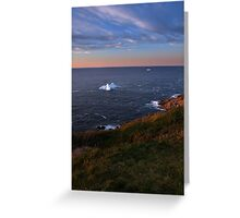 Evening View Greeting Card
