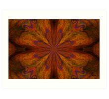 Cirque ___Kaleidoscope Card  Art Print