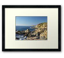 Bodega Bay Headlands Framed Print