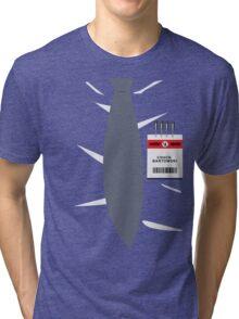 Nerd Herd - Chuck Bartowksi Tri-blend T-Shirt