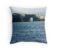 Arch Rock Bodega Bay Throw Pillow