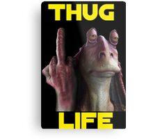 Jar Jar Thug Life Metal Print