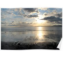 Sunset on Dingle Bay, Rossbeigh Beach Poster