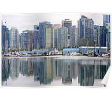 Reflections in Vancouver Poster