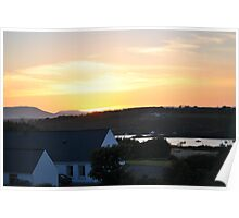 Sunset in Baltimore, County Cork Poster