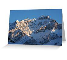 Sunlit Range - Banff Greeting Card