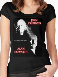 John Carpenter In Association With Alan Howarth Women's Fitted Scoop T-Shirt
