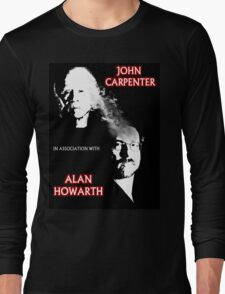 John Carpenter In Association With Alan Howarth Long Sleeve T-Shirt
