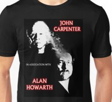 John Carpenter In Association With Alan Howarth Unisex T-Shirt