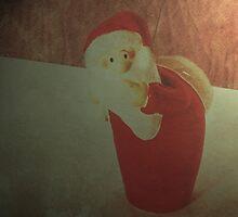 Sneaky Santa   by Denise Abé