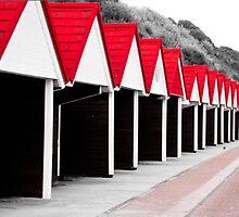 Beach Huts by scottseldon