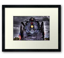 Centennial Locomotive Framed Print