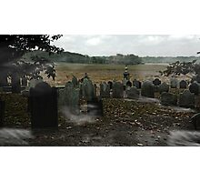 Cemetery Photographic Print