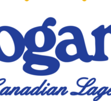 Logan's Canadian Lager Sticker