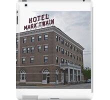 Mark Twain Hotel, Hannibal, Missouri, Usa iPad Case/Skin