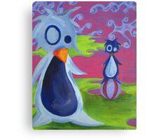 Penguin Ball Canvas Print