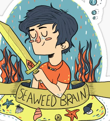 Seaweed Brain Sticker