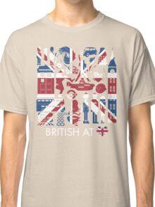 British @ Heart Classic T-Shirt