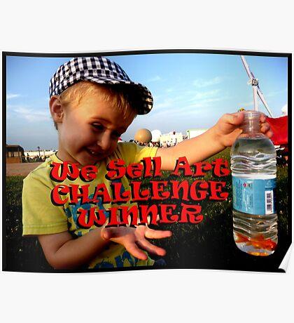 We Sell Art Challenge Winner Banner Poster