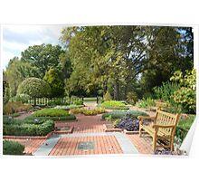 An Herb Garden Poster
