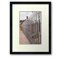 rails of dune Framed Print