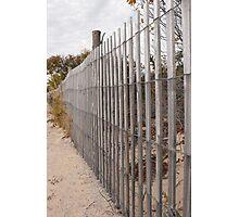 rails of dune Photographic Print