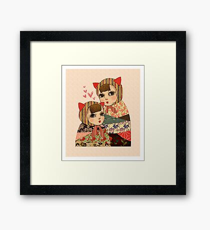 Kitty Pretty Framed Print