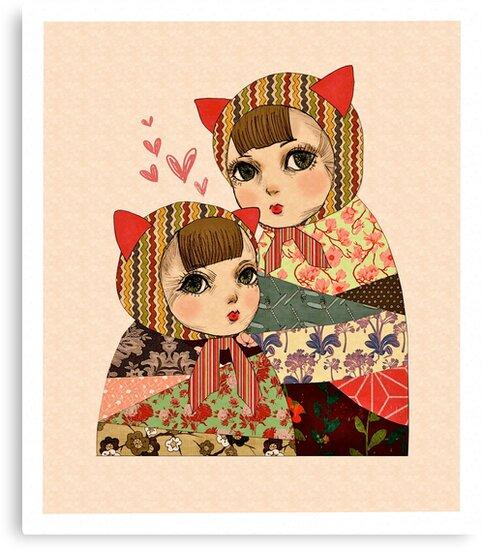 Kitty Pretty by Lisa Wong