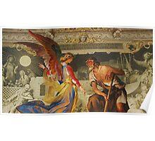 Angelic Italian Painting Poster