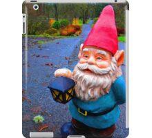Rainy Path Gnome iPad Case/Skin