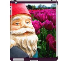 Purple Fields Gnome iPad Case/Skin