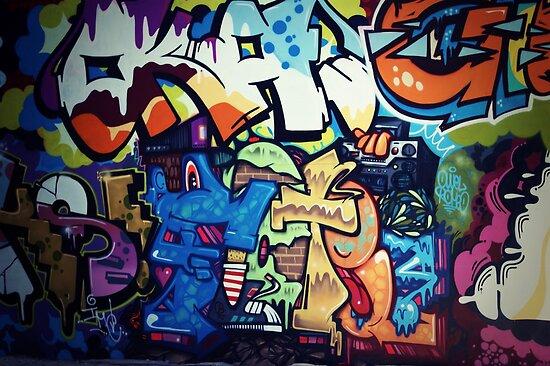 Urban Art Two by megandunn