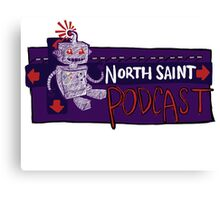 North Saint Podcast Logo Canvas Print