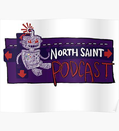 North Saint Podcast Logo Poster