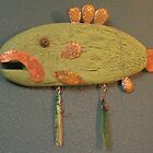 Key Chain Fish #1 (SOLD) by Fred Weiler