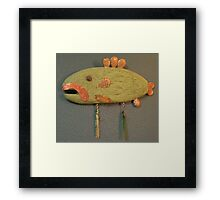 Key Chain Fish #1 (SOLD) Framed Print