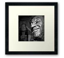 The Practical Joker Framed Print