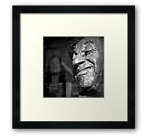 The Practical Joker Framed Print